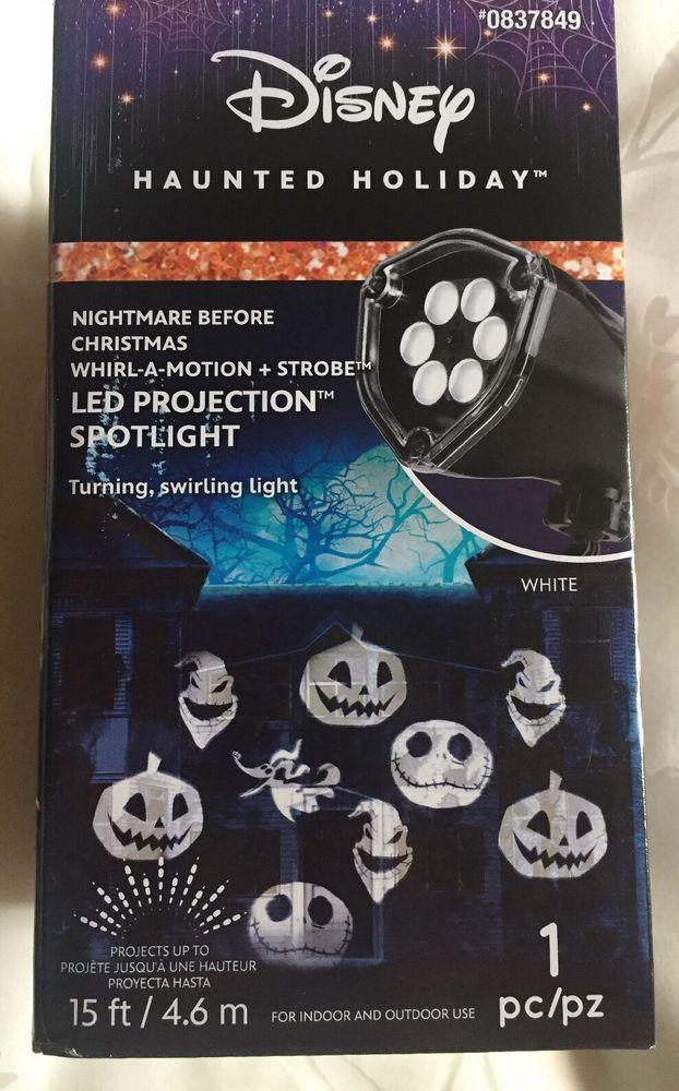NIGHTMARE BEFORE CHRISTMAS DISNEY 🎃 JACK SKELLINGTON, LED