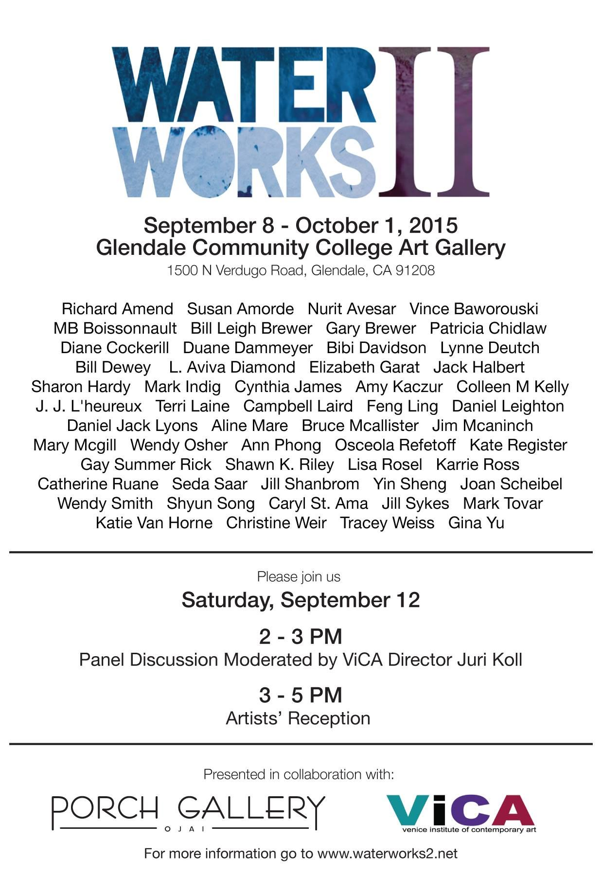 Encore exhibition! Waterworks II travels from Ojai to