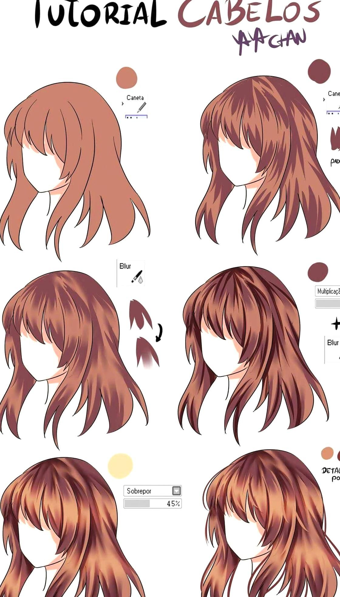 Anime Hair Color Meaning 14078 I Can T Even Draw Hair To Begin With But Okay Informations About Anim Drawing Hair Tutorial Anime Hair Color How To Draw Hair