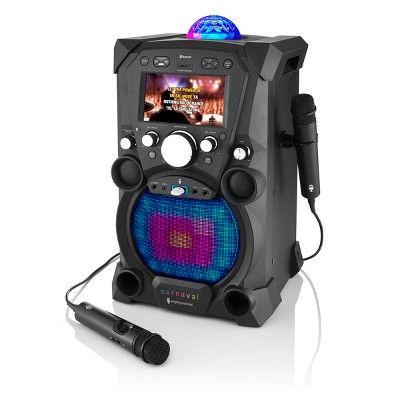 Singing Machine Fiesta Portable Hi-Def Karaoke System #karaokesystem