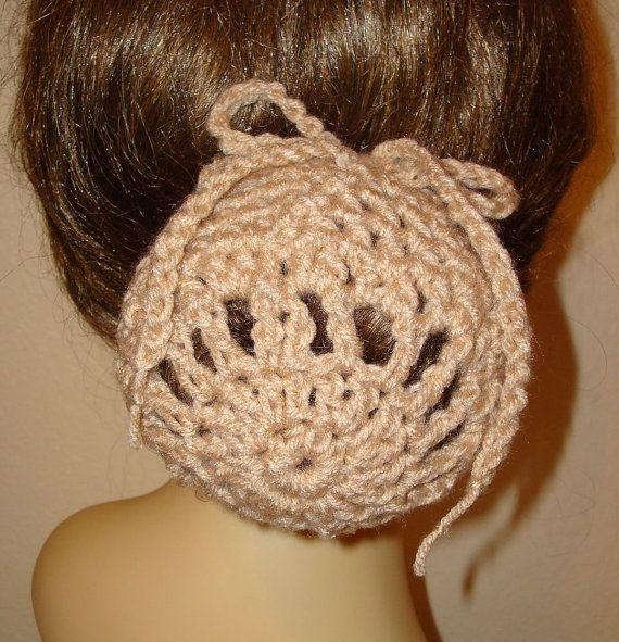 Pattern Crochet Ballerina Large Bun Cover Snood Patternpdf Format
