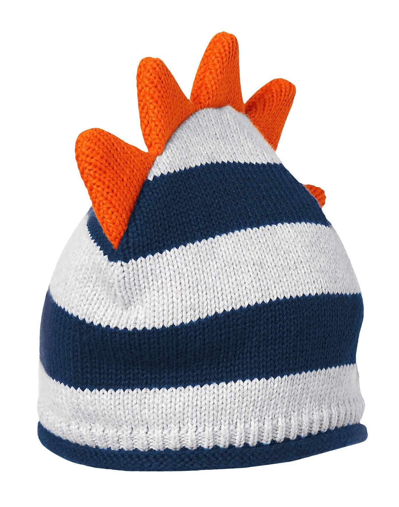 2a0de6b3366 Dino Striped Sweater Hat at Gymboree