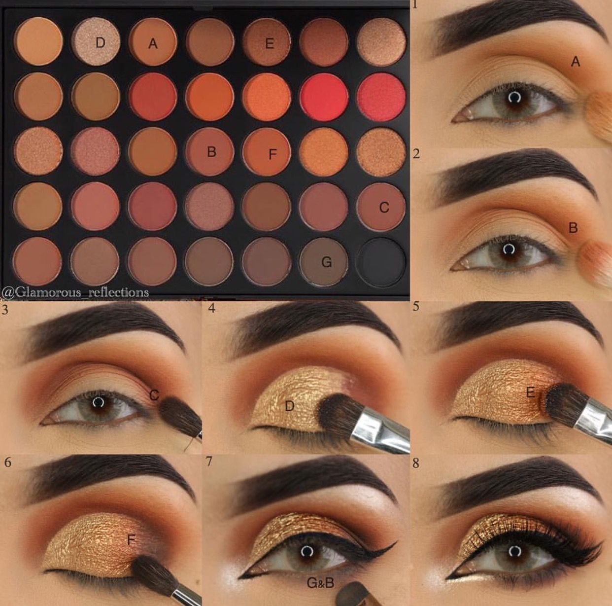 Pretty Look With The 35o2 Makeup Morphe Eyeshadow Makeup Eye