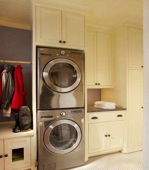 Traditional Laundry Room Mud Room With Laundry Design, Pictures, Remodel, Decor and Ideas - page 27