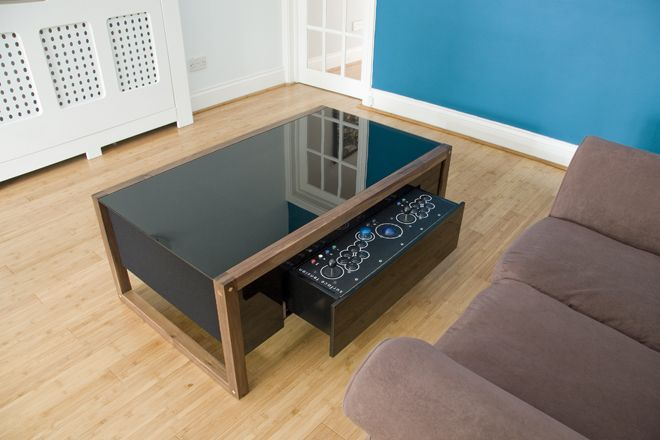 If You Canu0027t Get Enough Of Gaming Then You Might Want To Check This Cool  Arcade And Coffee Table From Surface Tension U2013 The Arcane Arcade Coffee  Table.