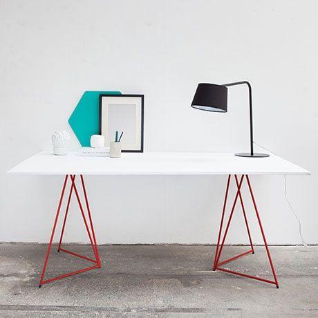 70x70 tischbock set rot alt image three workspaces pinterest tischbock avantgarde und. Black Bedroom Furniture Sets. Home Design Ideas