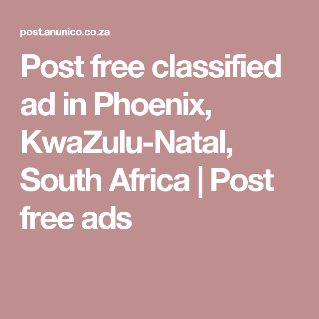 Free classifieds durban