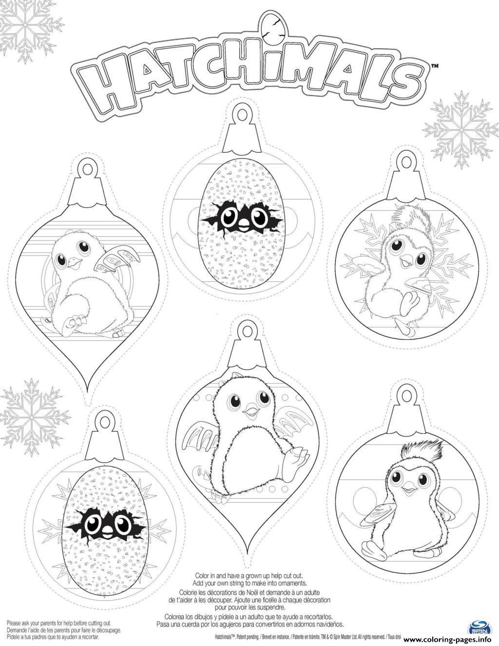 Print Hatchy hatchimals penguala draggles coloring pages | Parties ...