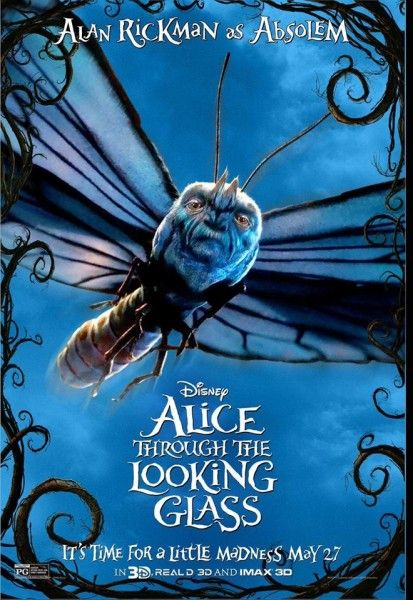 Video Final Trailer For Alice Through The Looking Glass