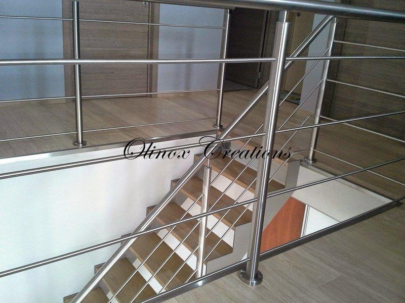 Rampe d\'escalier intérieur et garde corps design sur mesure ...