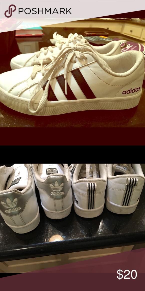 dda0d48a7b6b Adidas Girls Sneakers SiZe 6 In pic