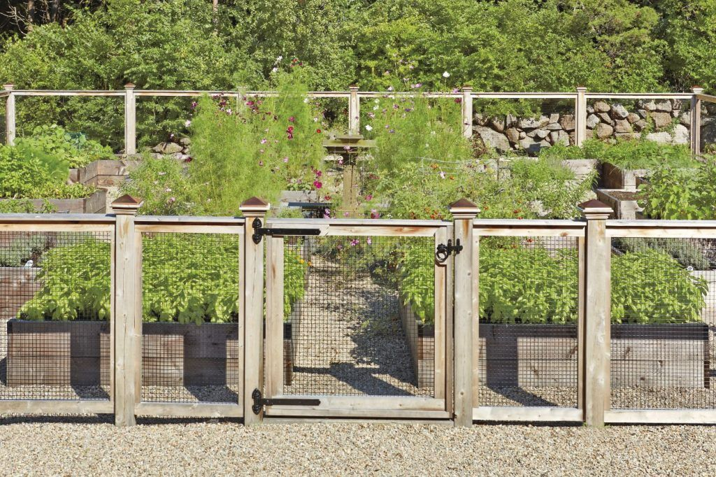 Wire And Wood Garden Fences In West Barnstable, MA