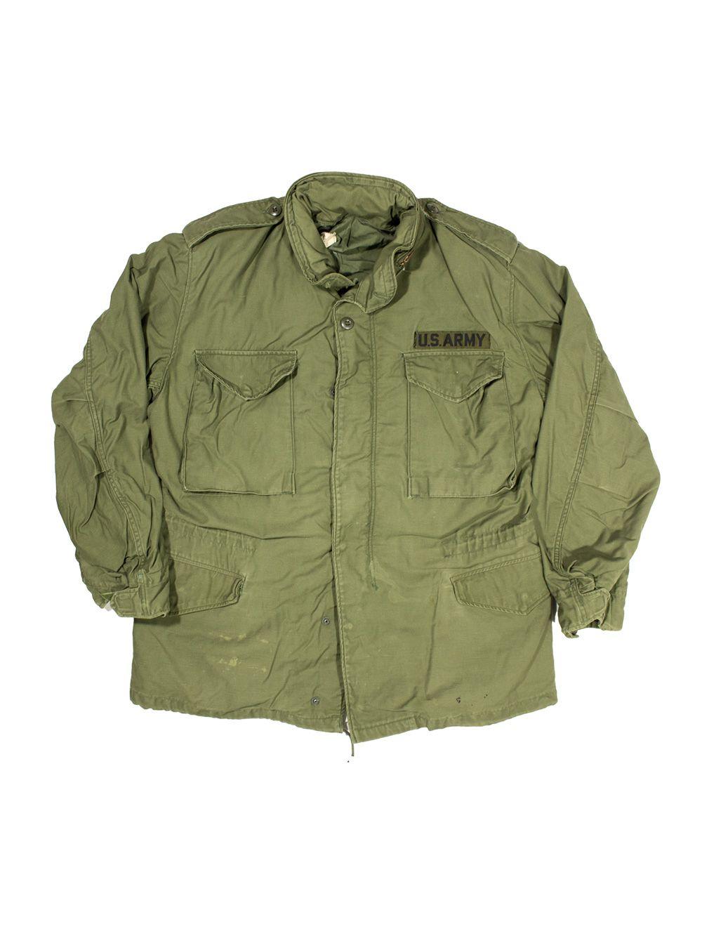 Vtg US Army M 65 Field Jacket (M) | Vintage outfits, Kläder