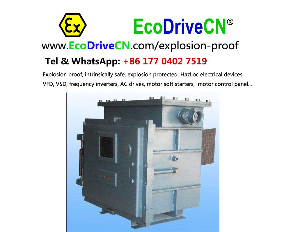 EcoDriveCN® explosion-proof enclosures for ac drives