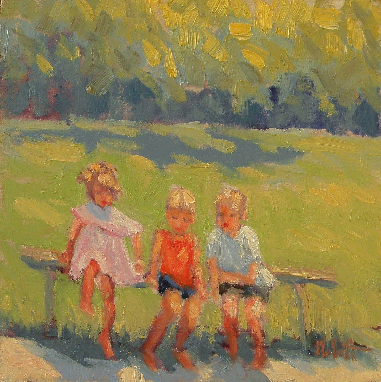 Impressionist Paintings Children
