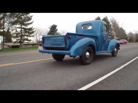 Vintage Dodge Pickup Truck video Manassas Lindsay