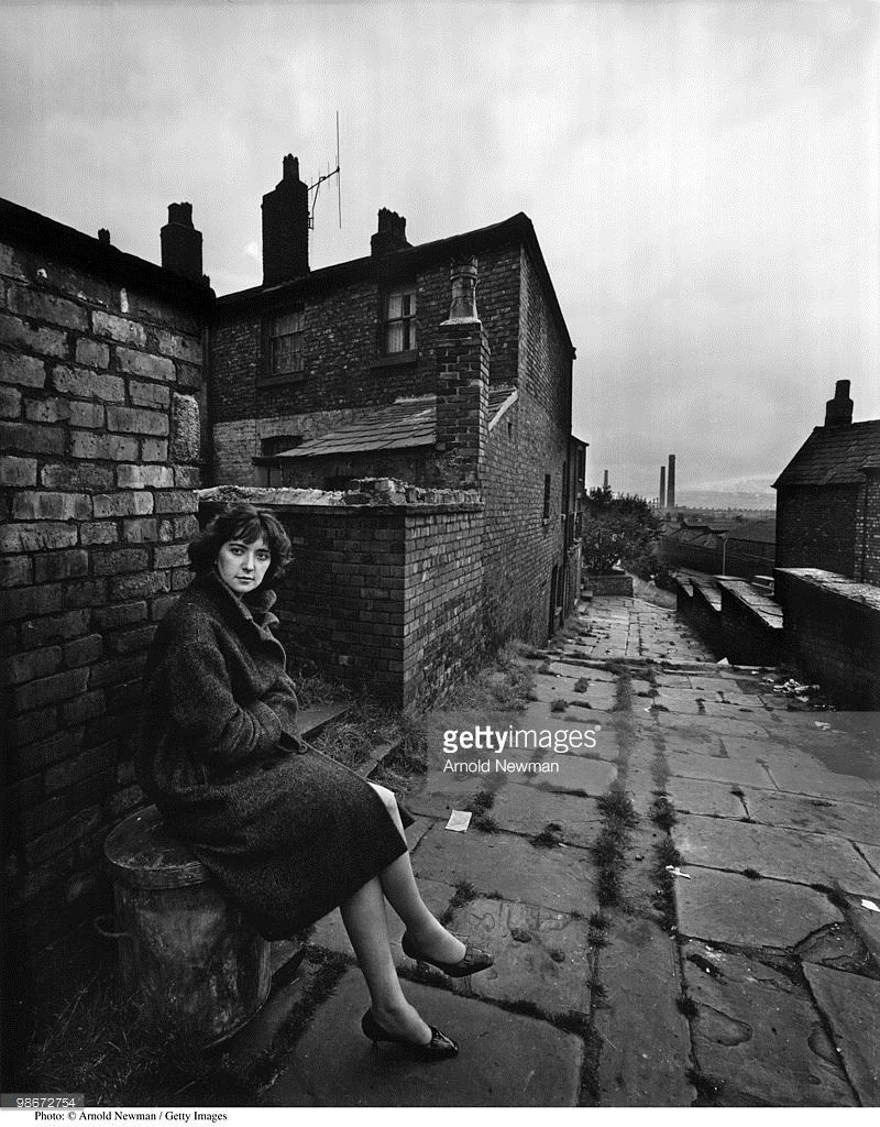 Portrait Of British Playwright Shelagh Delaney As She Sits On A