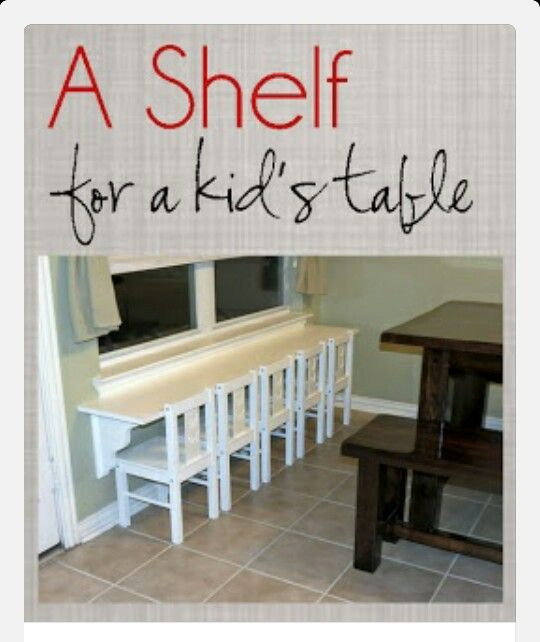 Kids table home sweet home pinterest muebles ni os - Sweet home muebles ...