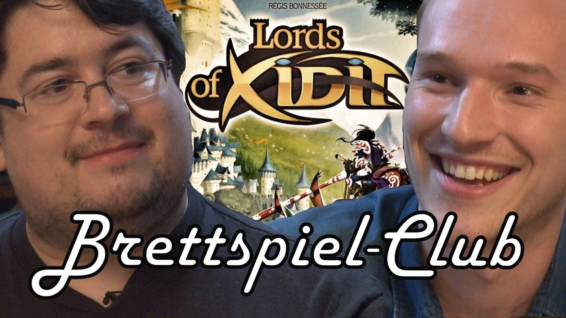 Lords of Xidit - Matthias Nagy und Lars Paulsen im Hunter & Cron Brettsp...
