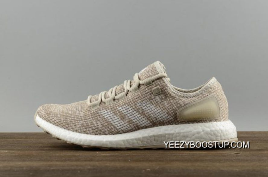 adidas pureboost beige bianco s82099 mens scarpe da corsa pinterest