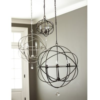 Orb Chandelier Ballard Designs Large Or Extra Large For Foyer