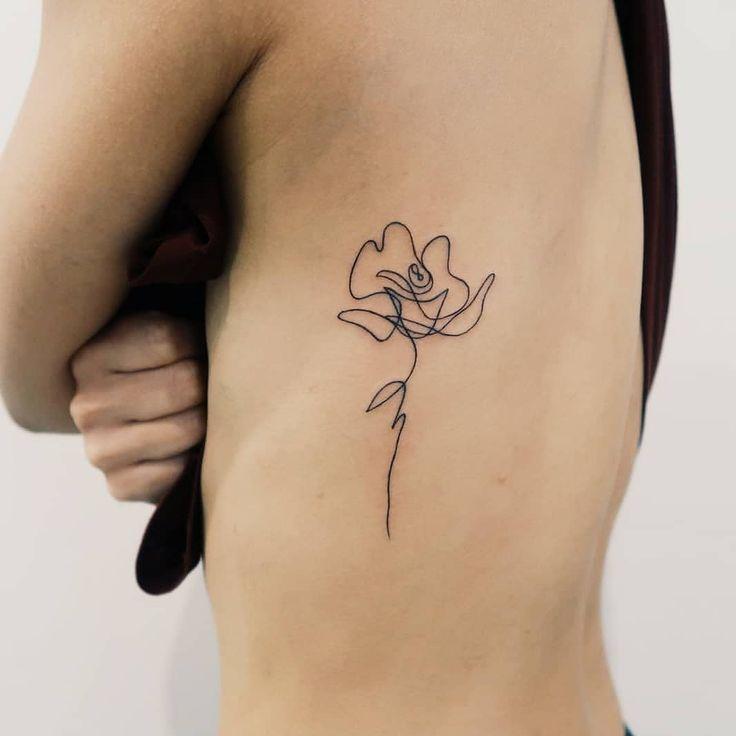 One Line Flower Artis