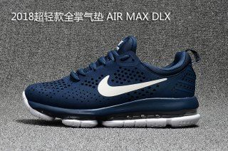 9d35bb927a918 Mens Running Shoes Nike Air Max DLX Deluxe Navy Blue White