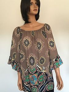 Moon Drops Women M Tunic Blouse Designer Fashion Ebay Fashion