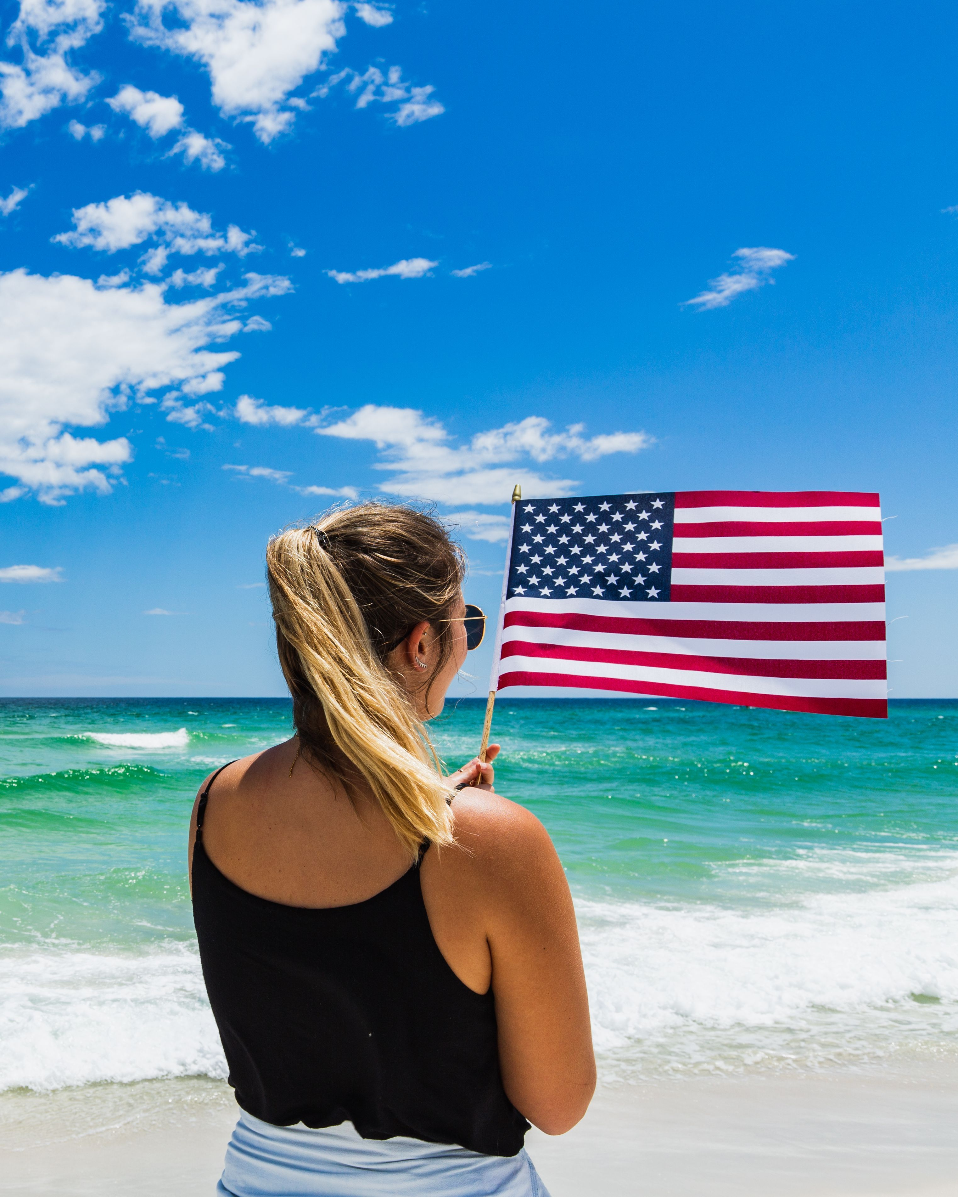 Happy Memorialday To The Land Of The Free Pensacola Beach