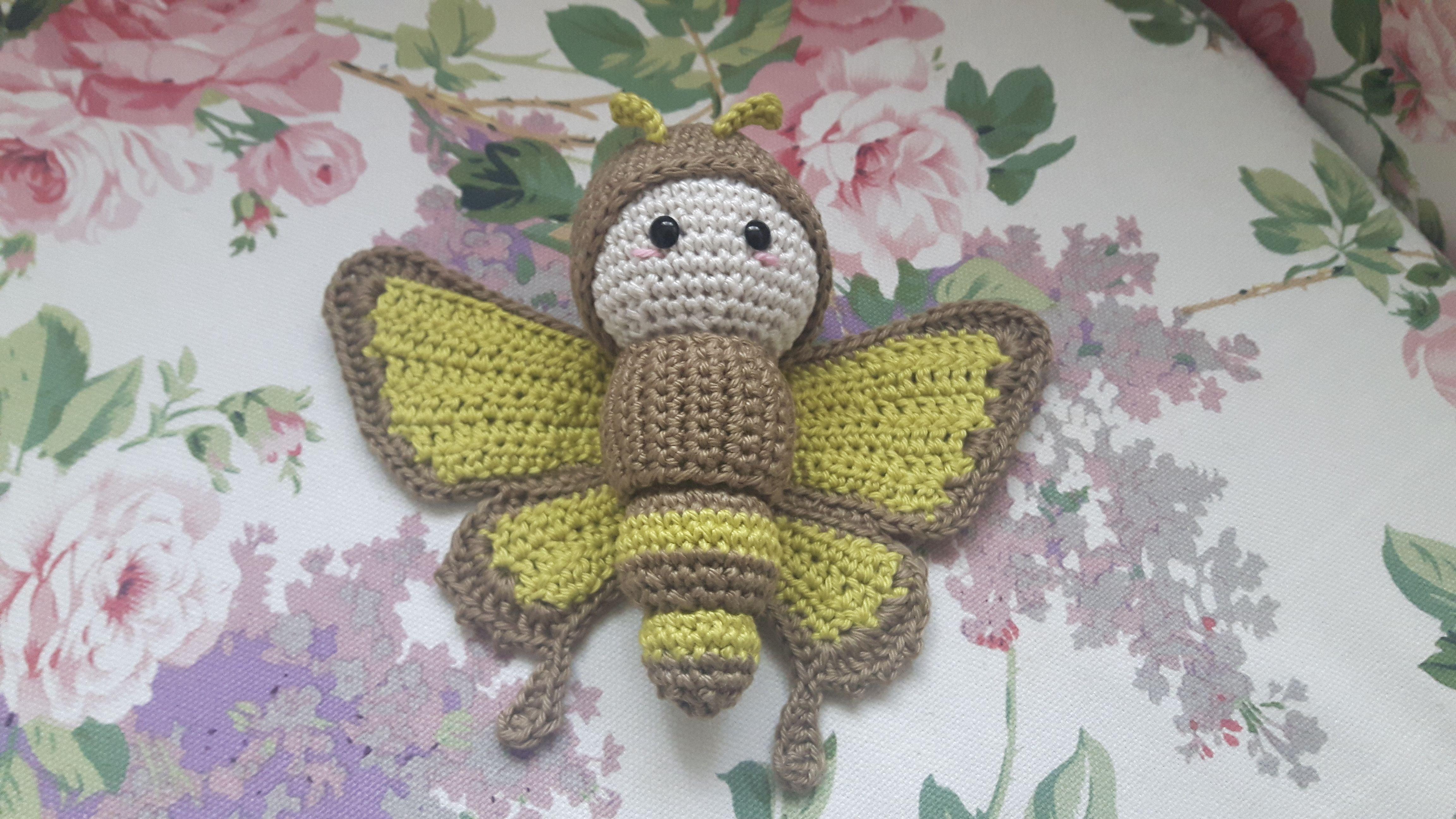 Ulysses Butterfly made by Stefanie G. / #crochetpattern by #lalylala ...