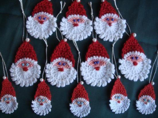 Adorno navidad a ganchillo hilo ganchillo navide os for Adornos navidenos tejidos a crochet 2016