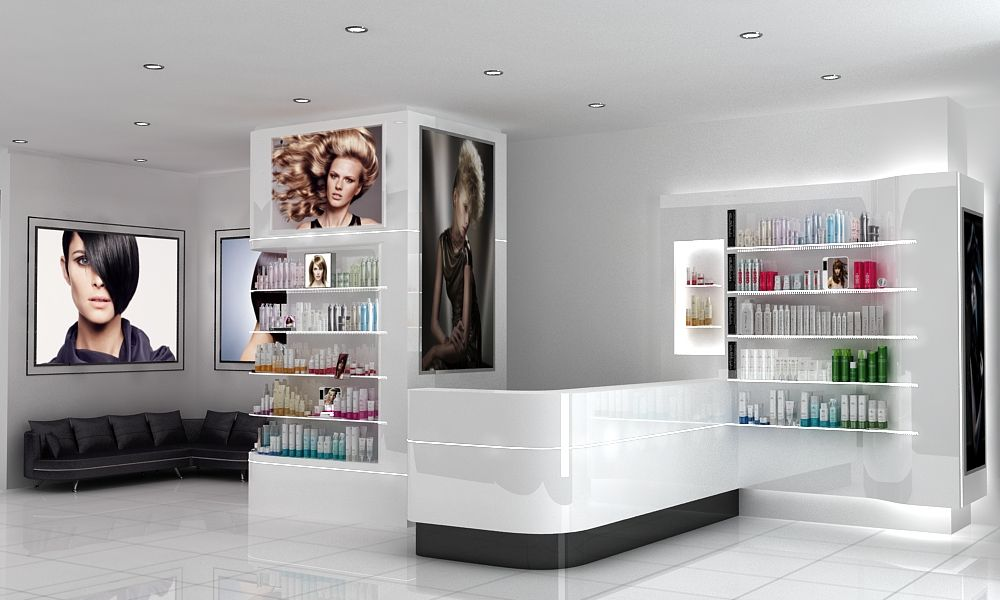salon product shelf display ideas google search rh pinterest com Salon Retail Displays Salon Retail Displays