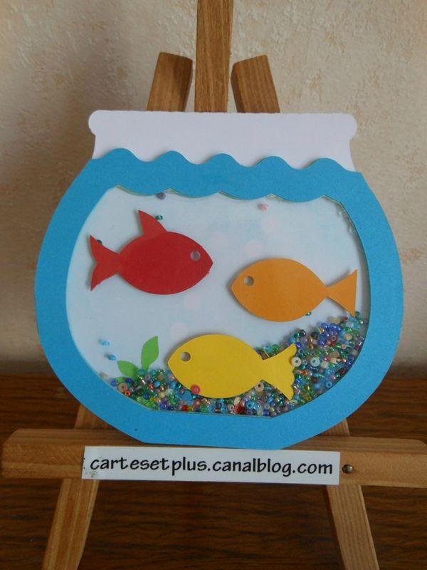 04 poisson d 39 avril small poissons sous l 39 eau crafts baby crafts et crafts for kids - Poisson avril maternelle ...