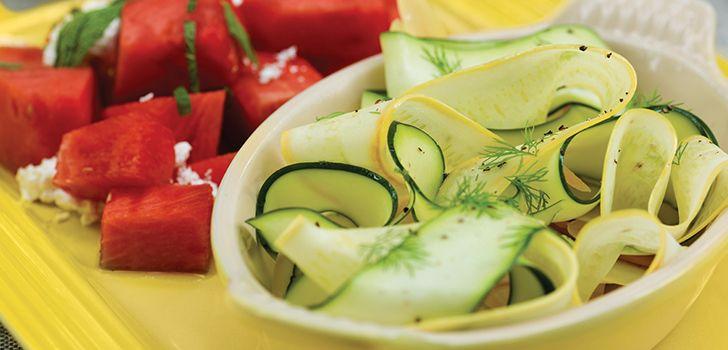 Zucchini Ribbons || Le Creuset