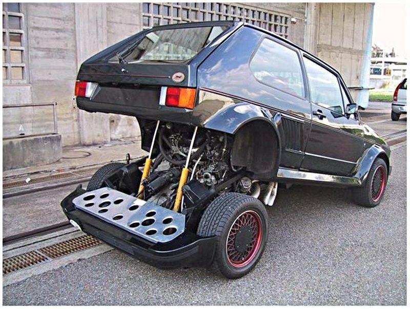 Central Engine Golf Volkswagen Golf Mk2 Volkswagen Volkswagen Golf