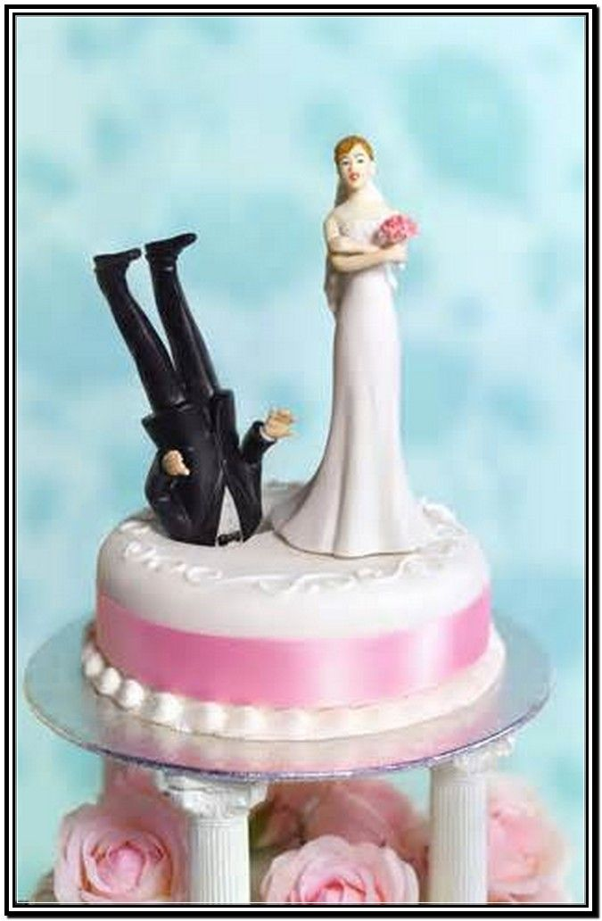 Divorce Cake Toppers For Me Funny Wedding Cakes Funny Wedding Cake Toppers Divorce Cake Topper