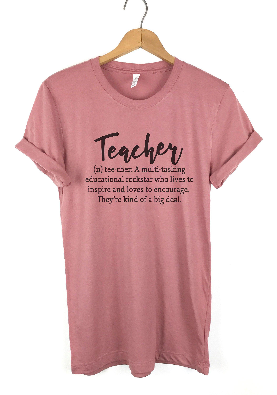 8bf7ed51f1d57 Teacher Definition Shirt