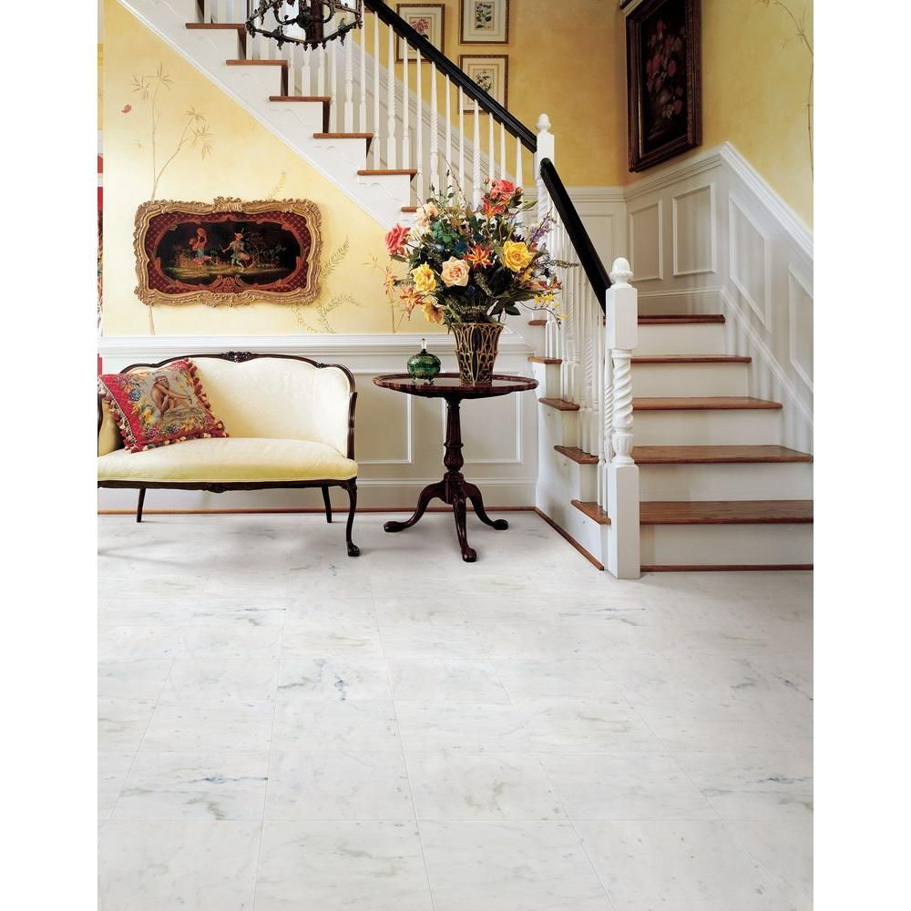 Msi greecian white 12 in x 12 in polished marble floor and wall msi greecian white 12 in x 12 in polished marble floor and wall tile 5 sq ft case thdvenwht1212 the home depot dailygadgetfo Image collections