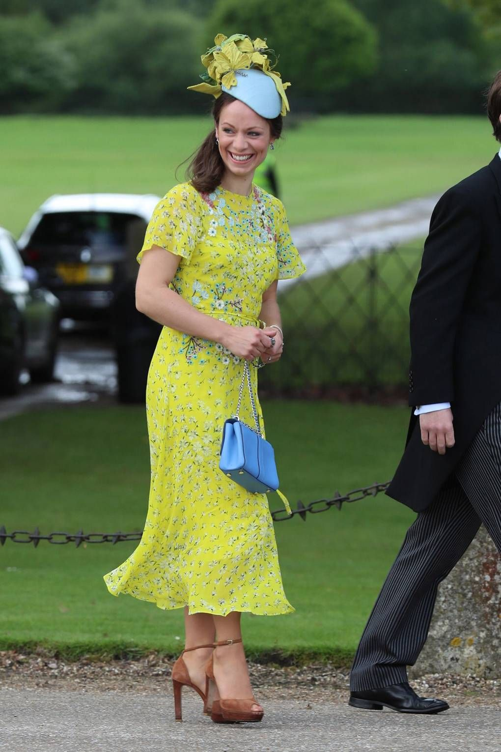 Wedding attendee dresses  Pippa Middletonus Wedding What The Guests Wore  looks  Pinterest