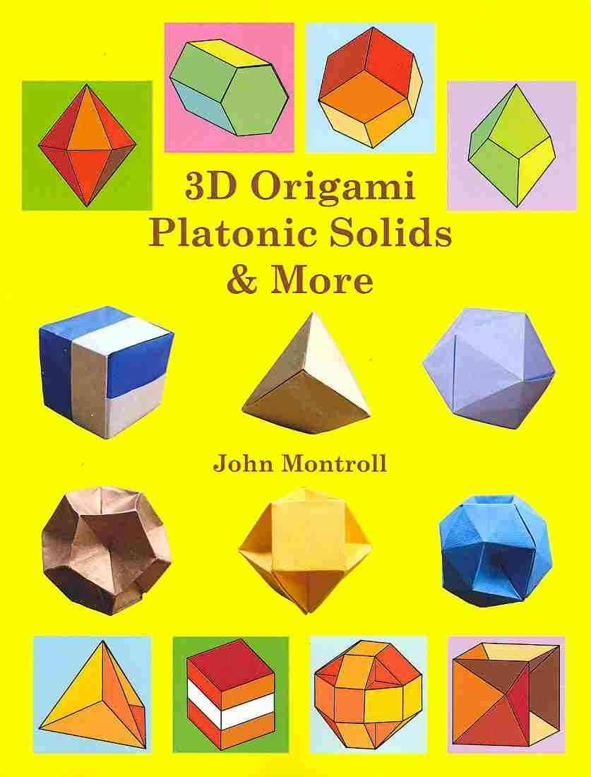 3d Origami Platonic Solids More Products Pinterest Platonic