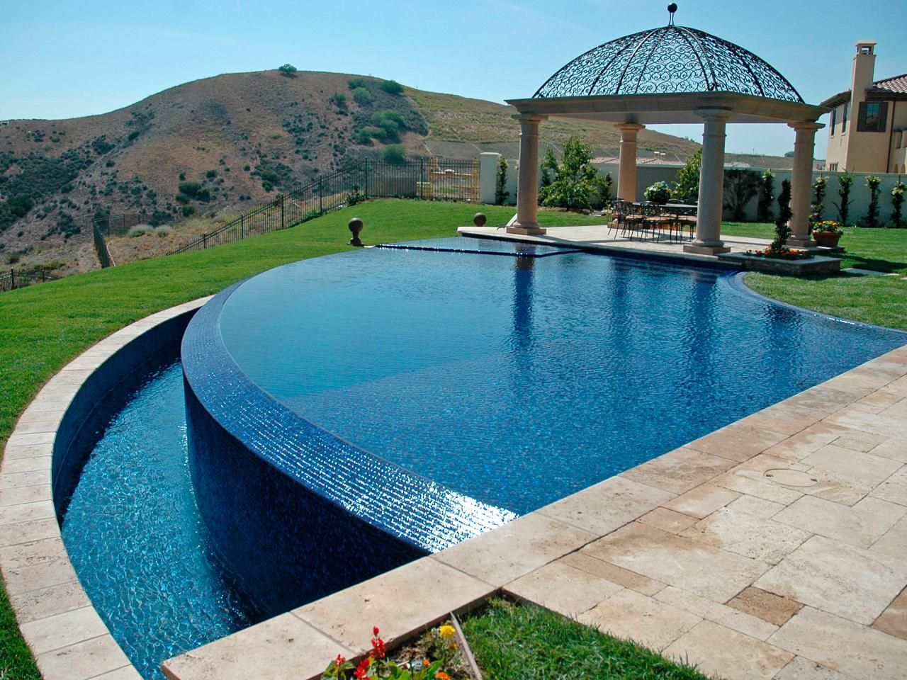 On the Edge Stunning Infinity Pools Pool designs Hgtv and