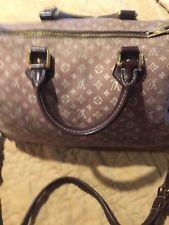 1d69a8dec224 Auth Louis Vuitton Monogram Idylle Speedy Bandouliere 30 Sepia shoulder Bag