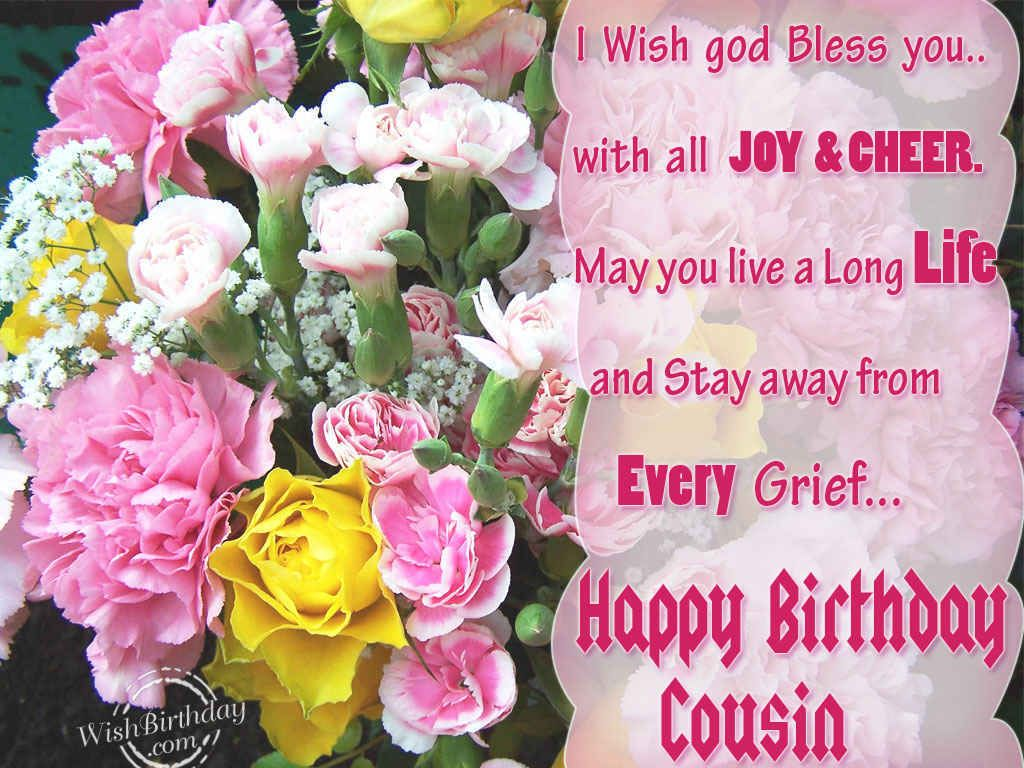 birthday cauins | Birthday Wishes for Cousin - Birthday Images ...