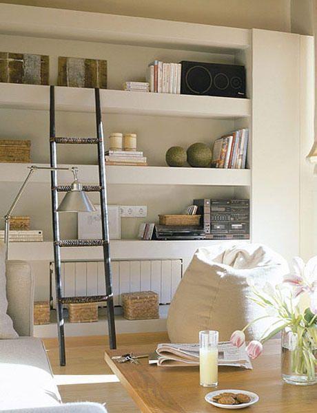 Librer as bien elegidas decoracion pinterest for Librerias salon modernas