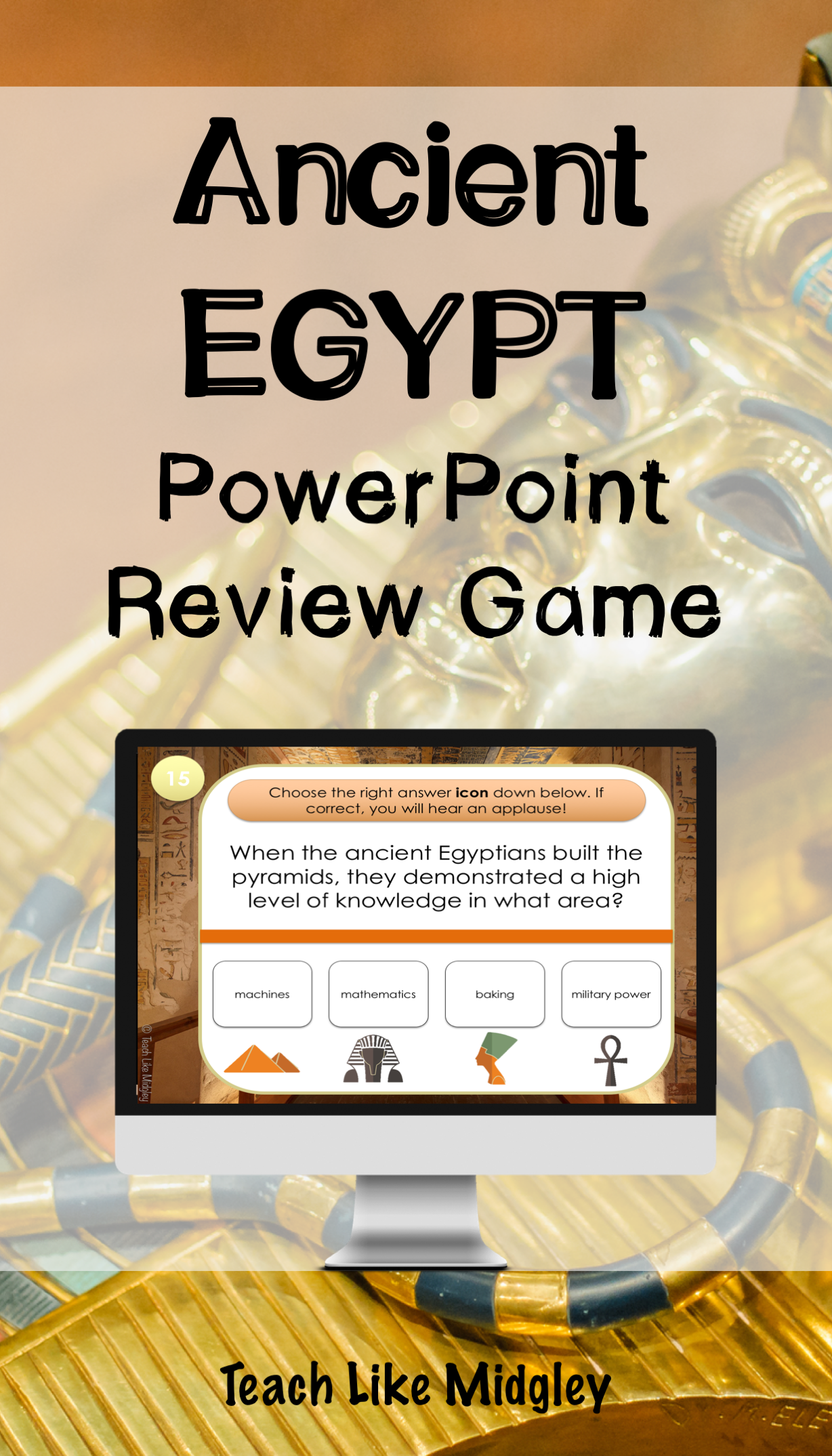 Ancient Egypt Interactive Powerpoint Game