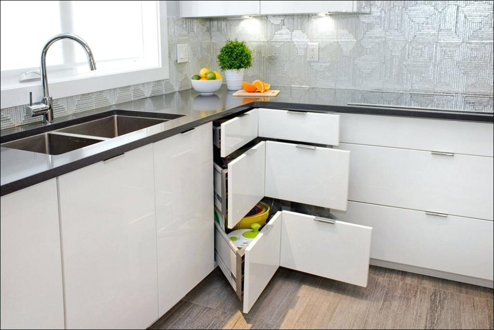 Storage Solutions Kitchen Corner Cabinets Ikea Shelving For Cupboards Simple Kit Ca Simple Kitchen Cabinets Corner Kitchen Cabinet Kitchen Storage Solutions