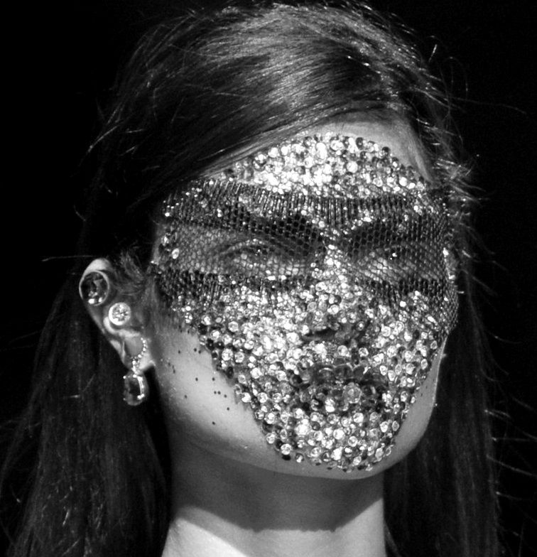 """le-monde-sans-couleur: """"Givenchy S/S 2014 """""""