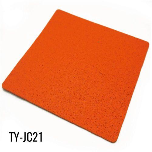 12mm Strong Orange Rubber Sheet Flooring For Weight Room Flooring Rolled Rubber Flooring Sheet