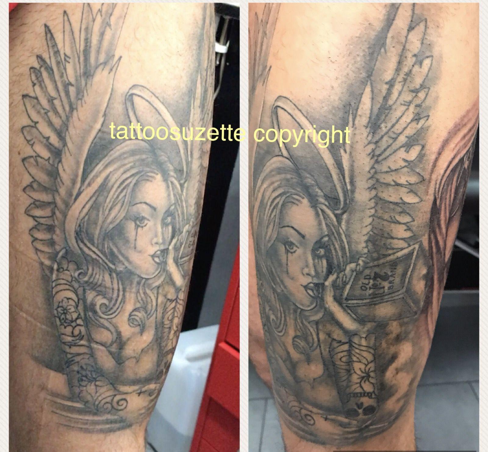 Angel tattoo tattoo pinterest tattoo
