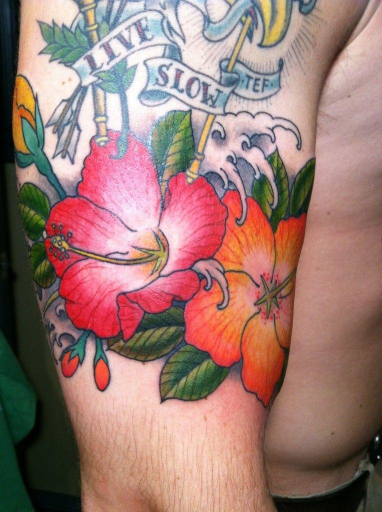 Hibiscus Flower Tattoos Cool Tattoos Pinterest Hibiscus Tattoo